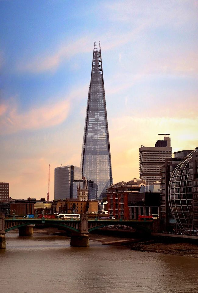 The Shard, London Thames River London Iphonephotography IPhone 6s Cityscapes Mix Filter