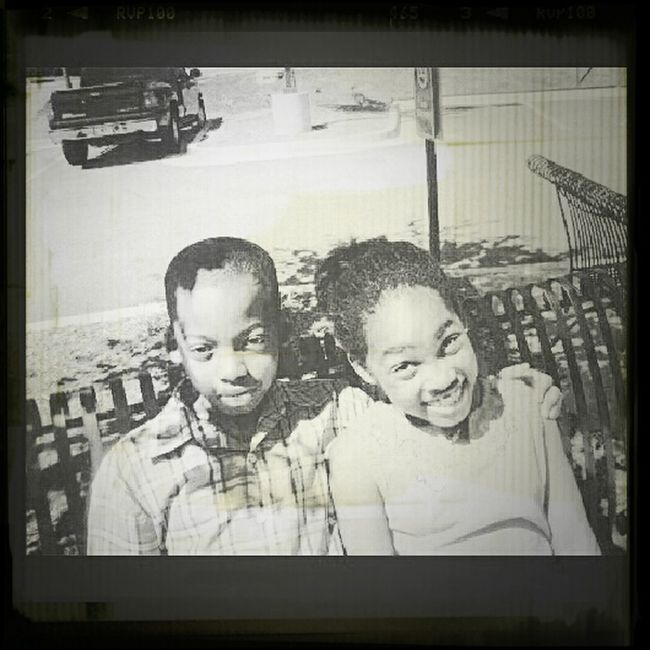My Brother And I #Throwback