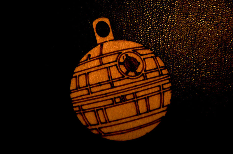 A Gift For You Christmas Decoration Death Star Star Wars