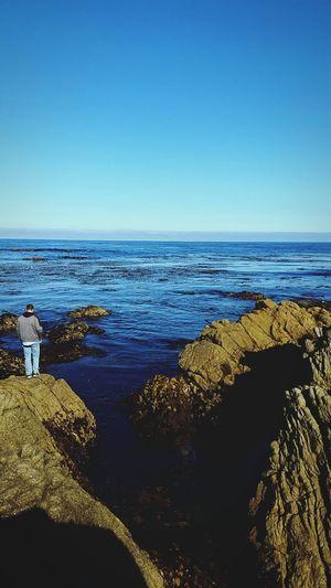 Gone fishing with my love Monterey Fishing Boyfriend❤ Love Beach Pacific Ocean Ocean View