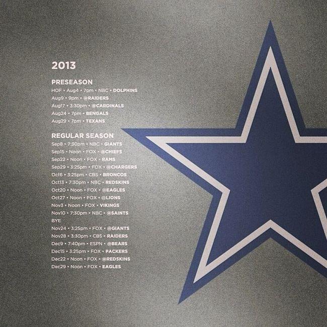 Oh YEAH!!! ⭐? HowBoutThemCowboys !!! GoDallas DallasAllDay GoCowboys AmericasTeam NFC NFCEast 2013
