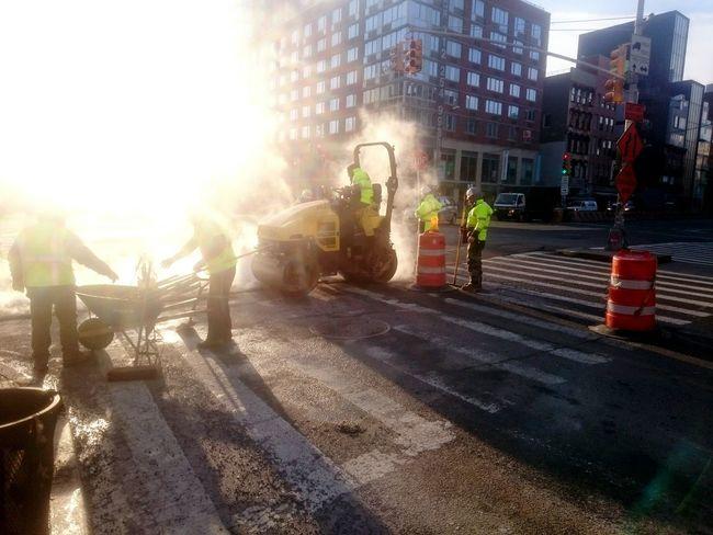 Construction Work Street