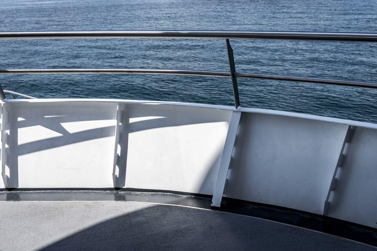 Holiday Railing Transportation Beauty In Nature Boat Deck Close-up Day Horizon Over Water Lake Nature Nautical Vessel No People Outdoors Rail Railing Railings Sailing Scenics Sea Shadow Ship Sunlight Water