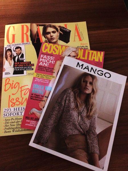Grazia Cosmopolitan Mango Magazine Fashion Lifestyle