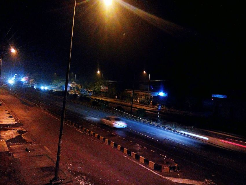 Nh 58 Road Trip Nigth 🌜⭐️ Traffic EyeEmNewHere