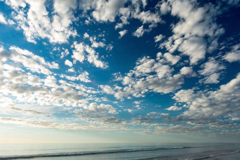 Sea Scenics Sky Tranquility Nature Beauty In Nature Tranquil Scene Horizon Over Water Water Cloud - Sky Beach No People Outdoors Day