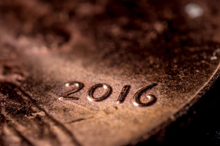 2016 US Penny. 1 Cent, or $0.01 USD Currency Macro Photography Penny US Penny Cent Close-up Dollar Legal Tender Macro Money Us Currency
