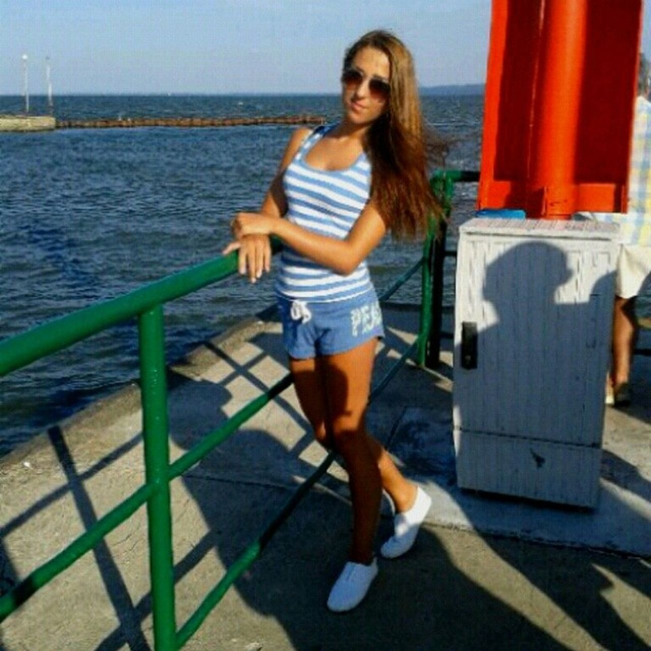 Polishgirl Yesterday Krynica Morska krynicamorskaholidayspontantripsummerlegsbrunette longhair girl