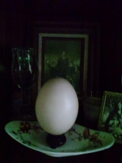 Easter . Family Portrait . Icon . Inmemoriam Corner. Ostrichegg Ancestralaltar