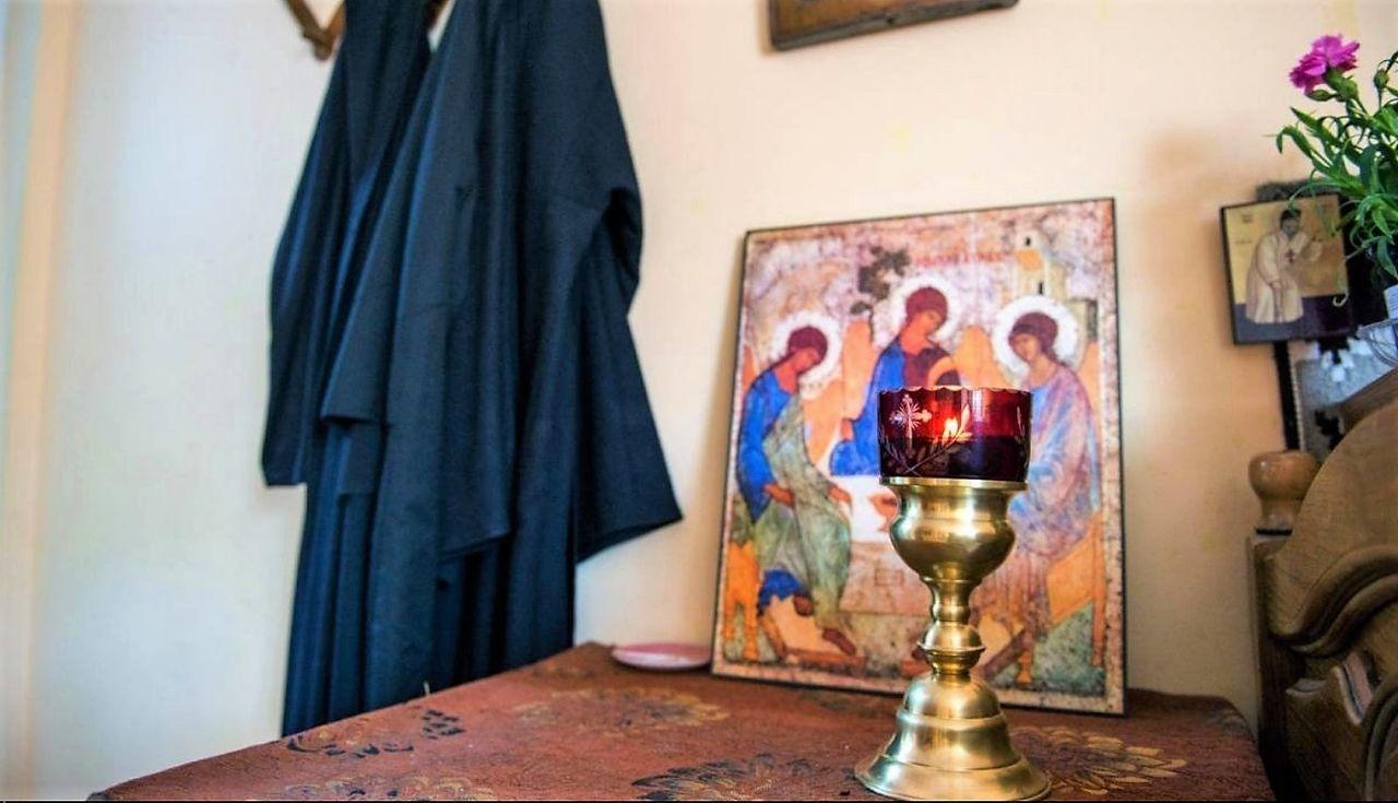 Coat Day Holy Trinity Home Interior Human Representation Indoors  No People Saints