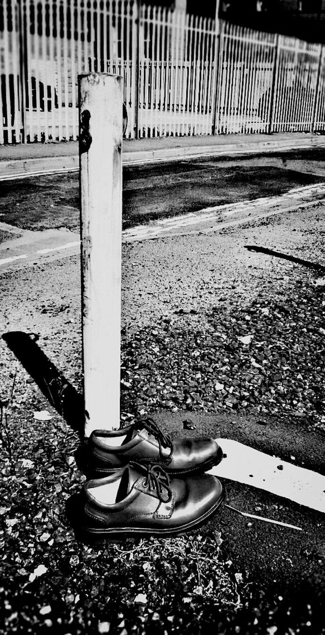 Shoot The Street With Pointer Footwear Blackandwhite NEM Black&white Visual Statements