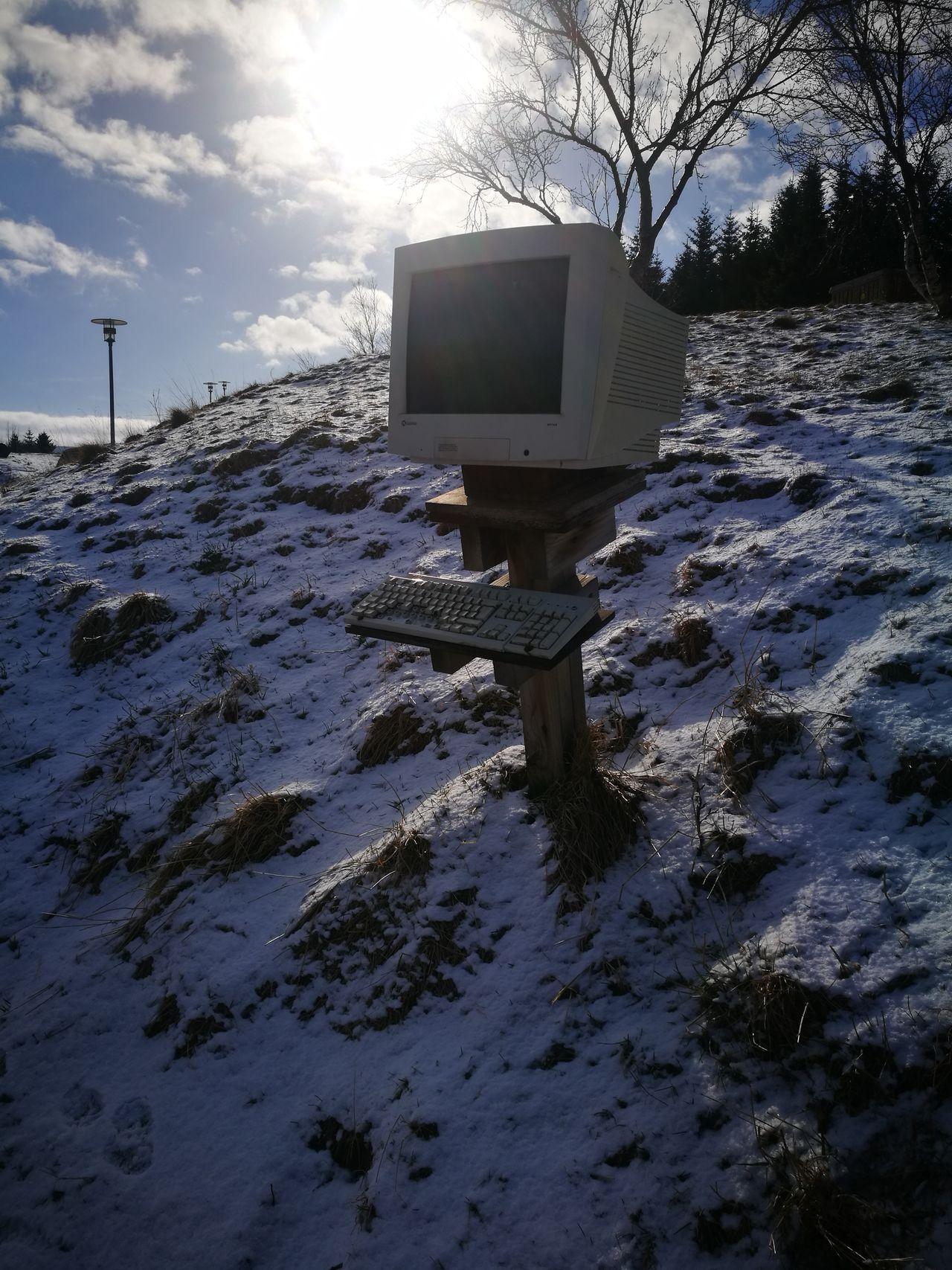 Logging On Internet Iceland