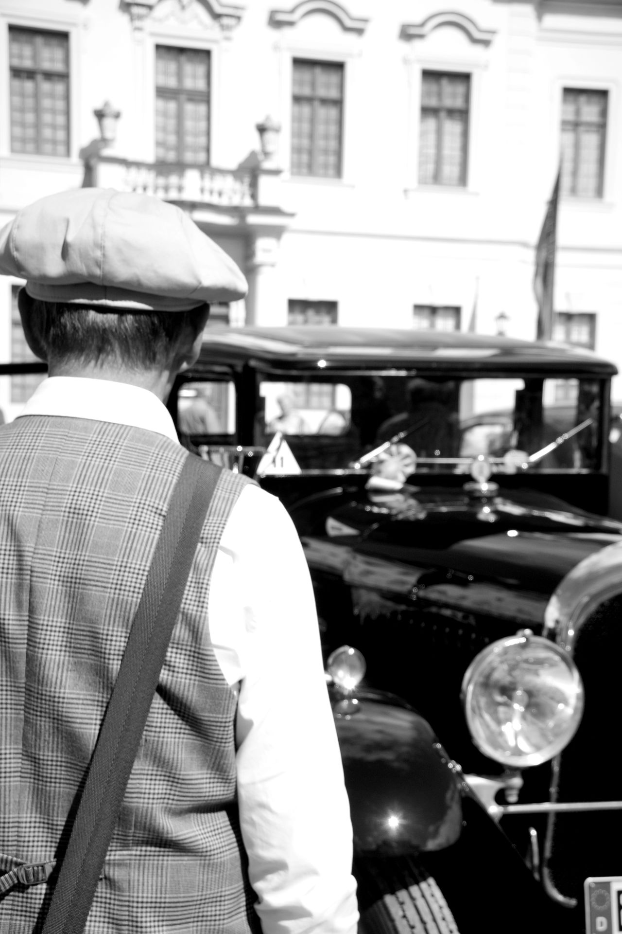 20s Car Admire Adore Black Car Car Show Castle Casual Clothing Classic Car Dandy Focus On Foreground Lifestyles Mein Automoment Olditimer Retro Classics The Drive