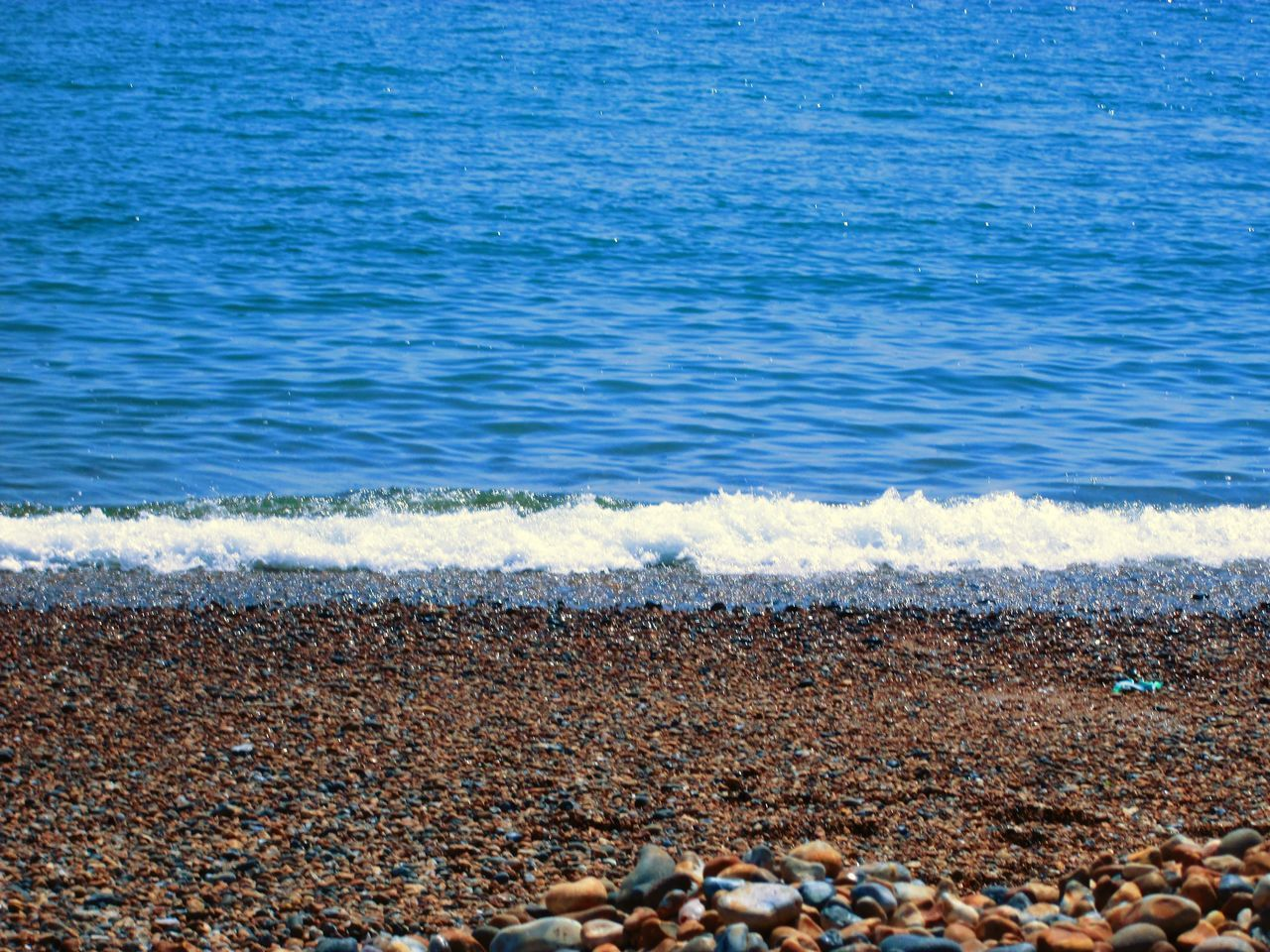 Beach Beauty In Nature Day Nature No People Ocean Outdoors Pebble Pebble Beach Pebbles Pebbles And Stones Pebbles And Water Pebbles Beach Pebbles On A Beach Sea Sunlight Water Wave Waves Waves, Ocean, Nature