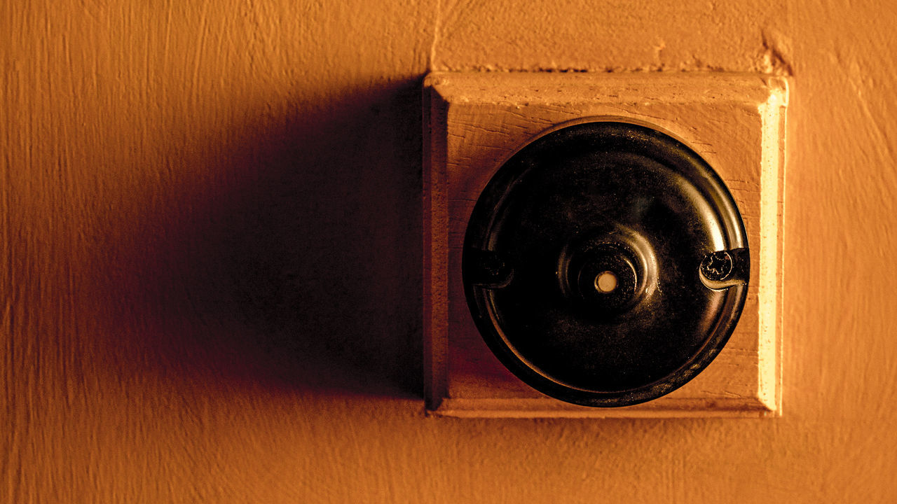 16x9 Background Button Electricity  Grunge Lightswitch Nobody Old Orange Color Retro Shadow Toggle Vintage