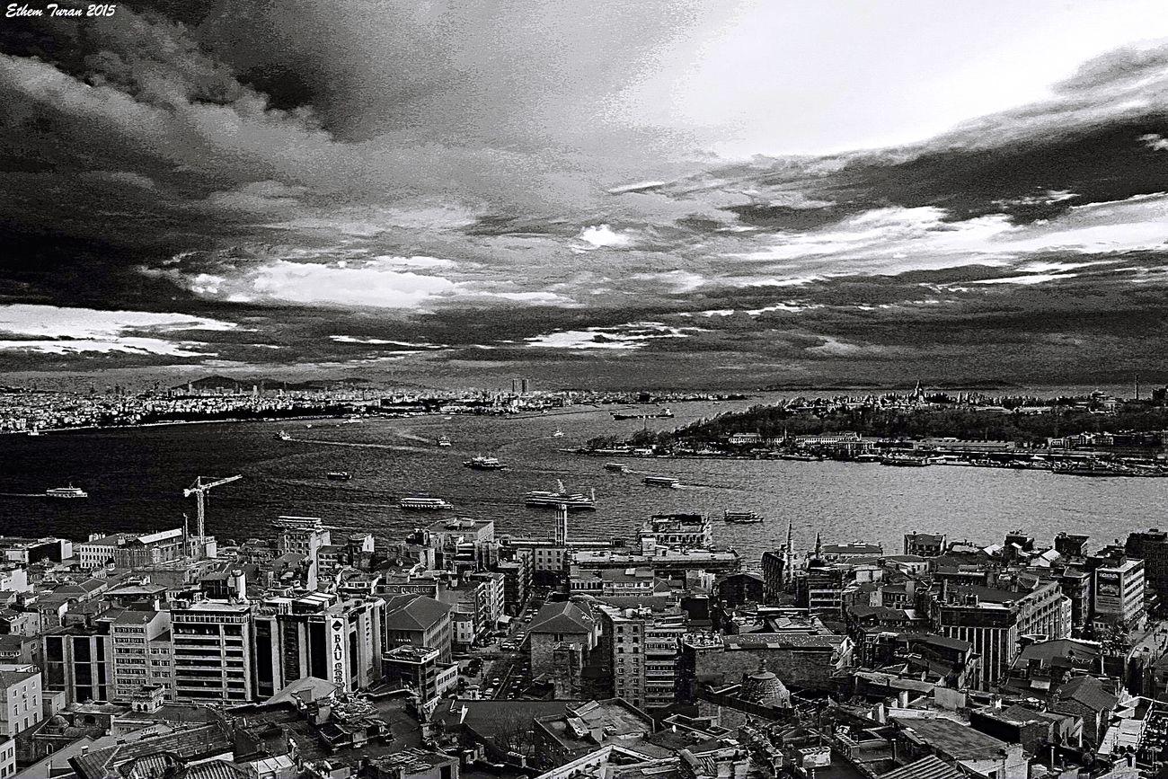 Bakış açısı. Kuş bakışı.. Seyr-i İstanbul Galatatower Istanbul Blackandwhite Black & White