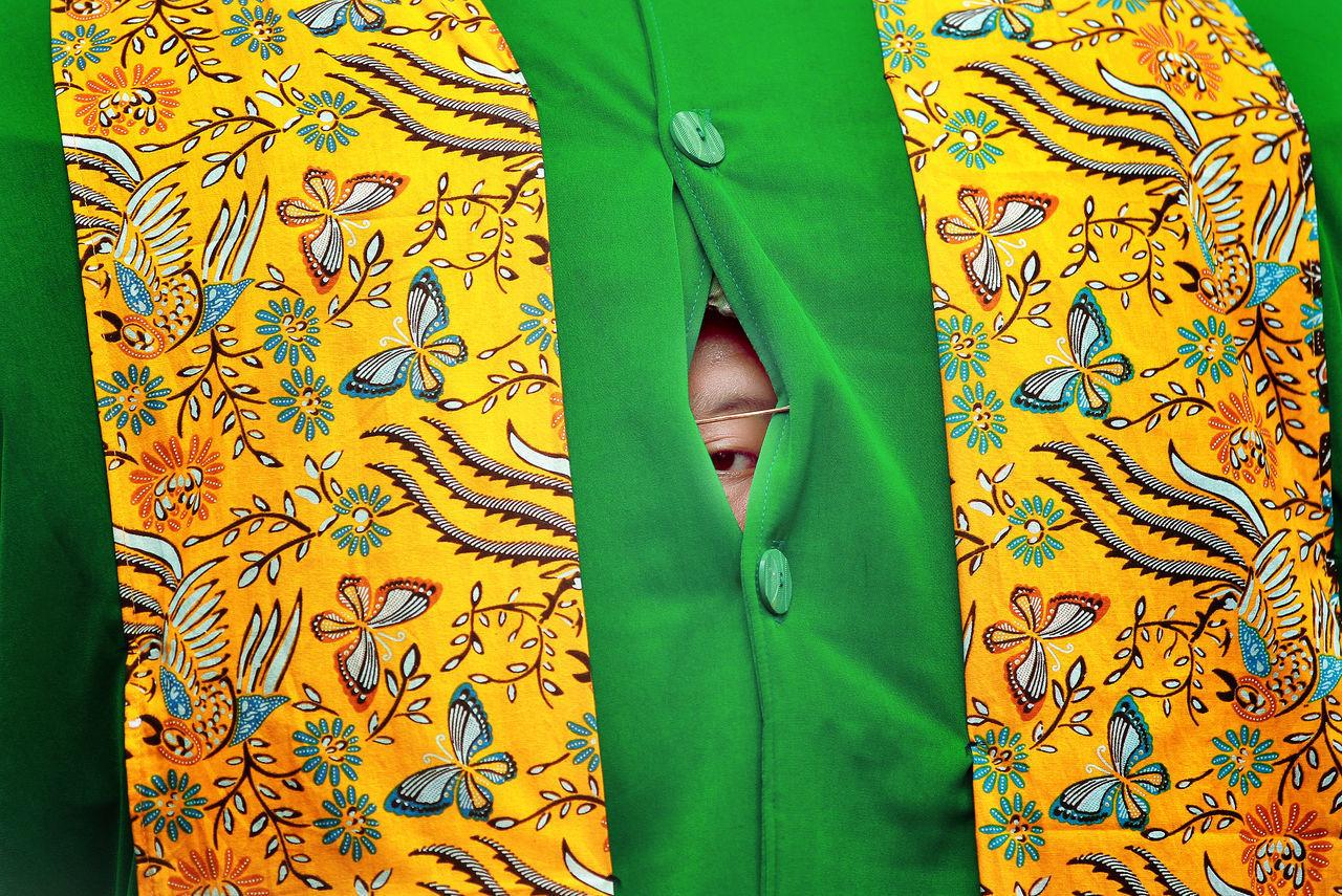 The Week on EyeEm EyeEmNewHere pattern textile human body part ondel-ondel eye culture betawi
