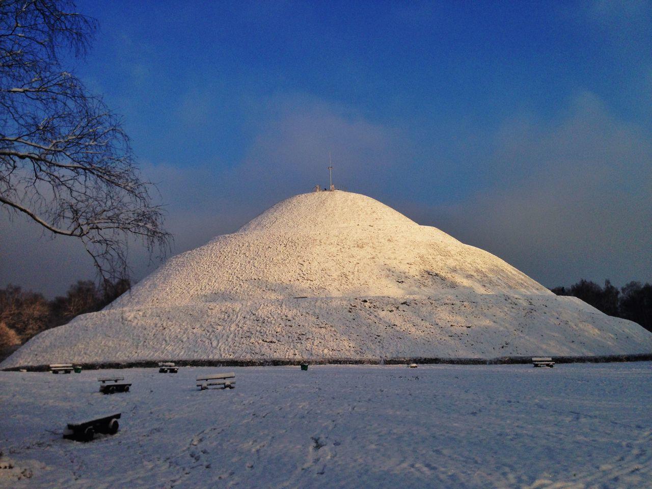 Mound In Winter Sunlight