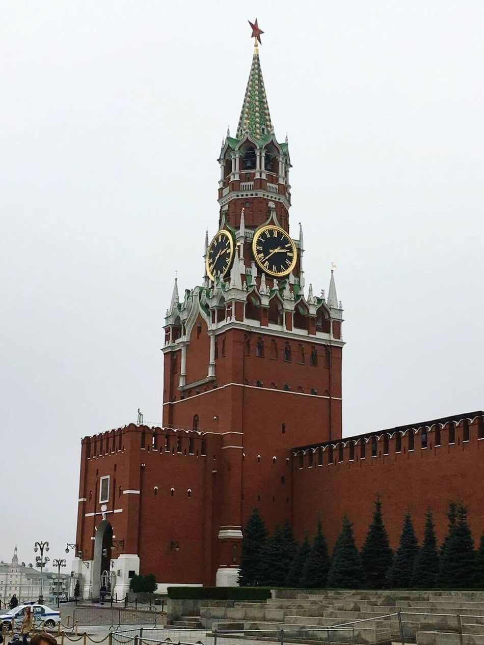 Spasskaya Tower Red Square Moscow Architecture Russia Iloverussia