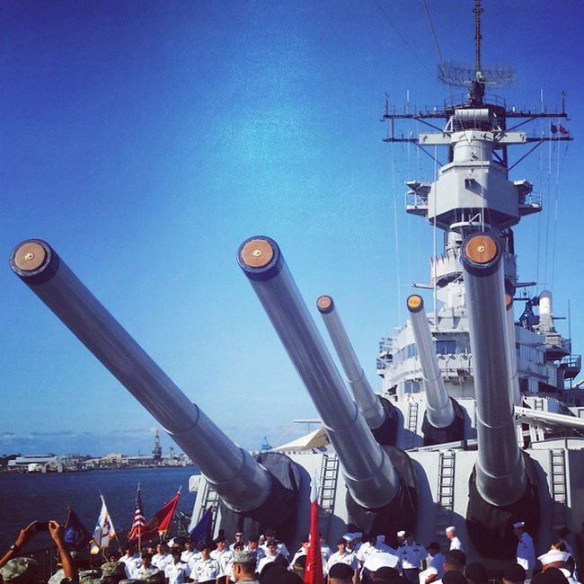 USS Missouri memorial and where WWII ended. Great site to see, and to look at past remnants of those who fought before us and those who paid the ultimate sacrifice. Ussmissouri Pearlharbor Hawaii