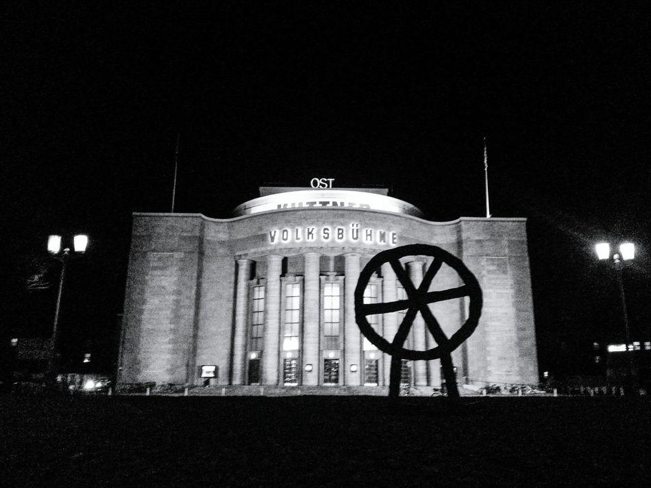 Volksbühne Black & White Rosa-Luxemburg-Platz Theatre Night