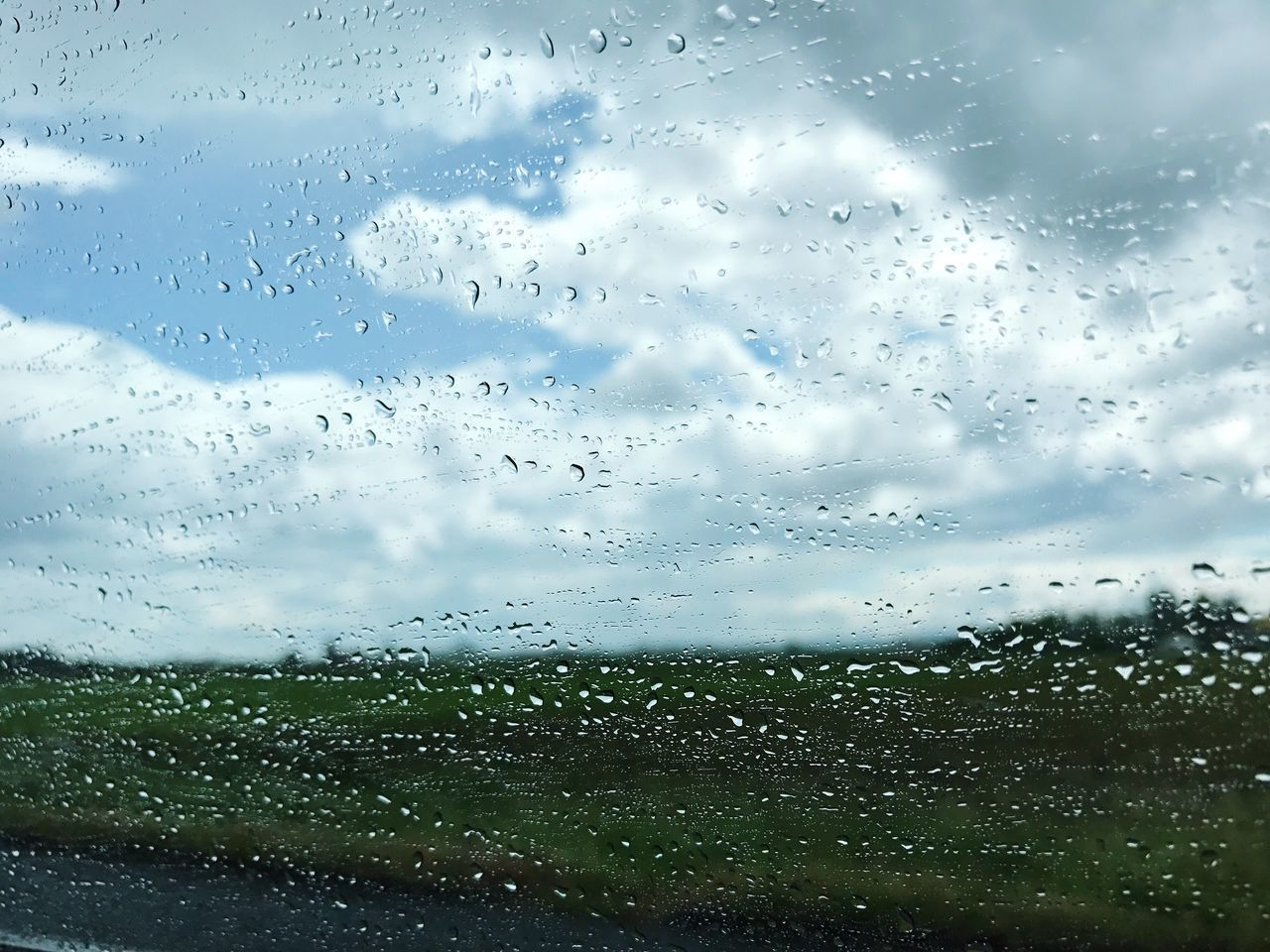 Drop Glass - Material Rain Wet Window Weather Sky RainDrop No People Cloud - Sky Water Full Frame Storm Cloud Beauty In Nature Freshness Day Vscocam VSCO Travel Destinations