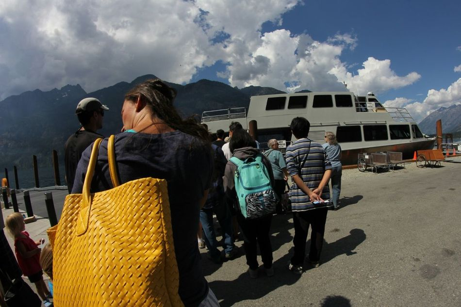 On The Way. People Together about to board in Stehekin, WA. Colour Of Life Tourism Travel Stories Lake Chelan Transportation Relaxation Seeing The Sights Traveling Landing Capture The Moment Stehekin Adventure Pacific Northwest  Summer Views The Adventure Handbook Miles Away