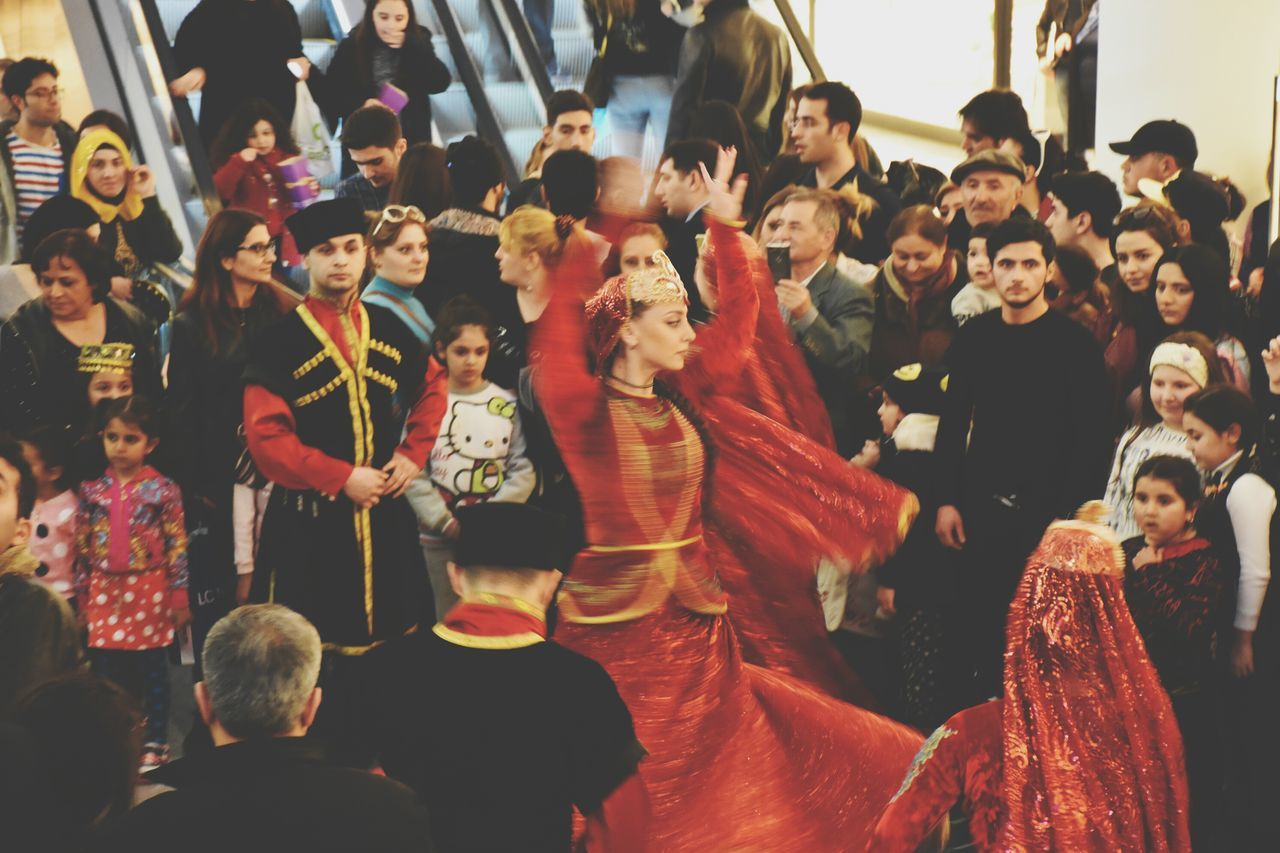 Art Large Group Of People One Person Portrait Art Is Everywhere Movement Happiness Dancer Dancing Red Dress Red Women One Woman Only Young Adult Lifestyles Indoors  Adults Only Freshness Quality Arts Culture And Entertainment The Street Photographer - 2017 EyeEm Awards