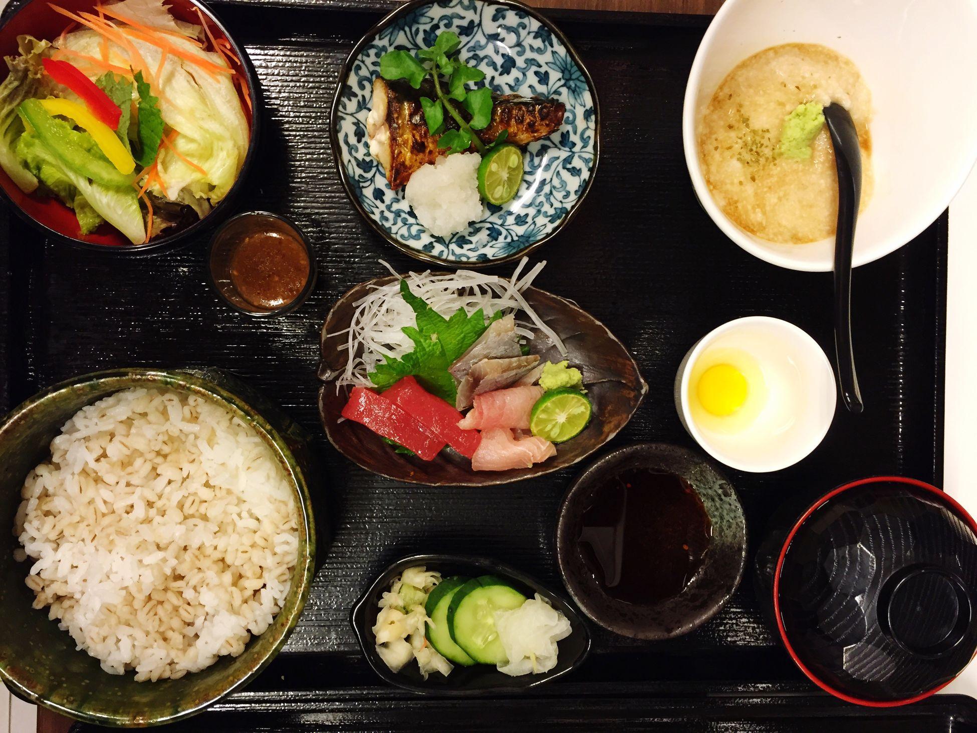 mugi toro sashimi + yaki zakana @diningshion @Japan @jawabarat @cikarang