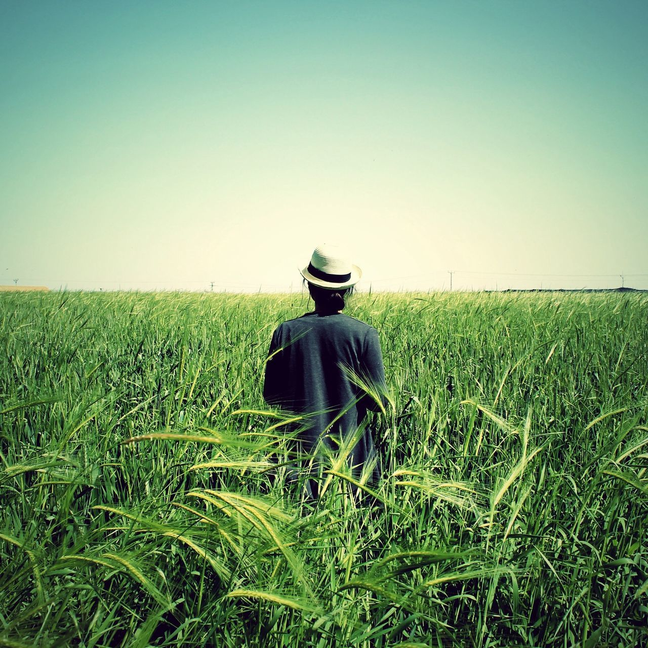 Ain't no other woman that can take your spot, my love The Explorer - 2014 EyeEm Awards From Behind Field