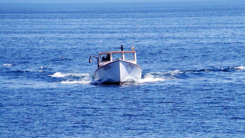 Lobster Boat Beautiful Day Taking Photos Check This Out Enjoying Life Hanging Out From Where I Sit OpenEdit