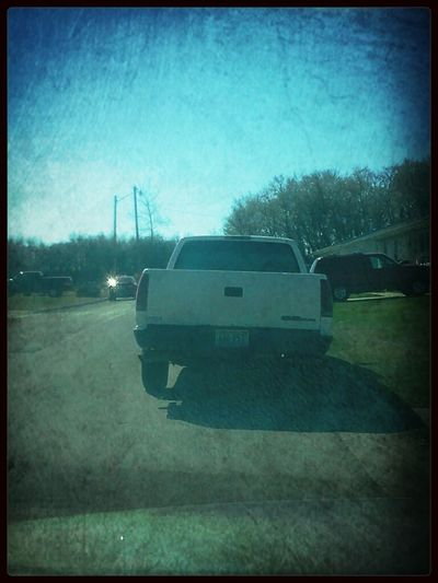 Love pulling into the yard & seeing this. Big brothers home! :D