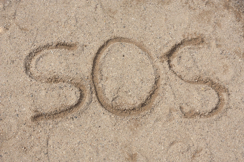 SOS on island beach, Help me please. Alive  Alone Background Backgrounds Beach Beach Life Close-up Day Help Help Me Island Life Message Nature No People Ocean Outdoors Sand Sea Sos Textured
