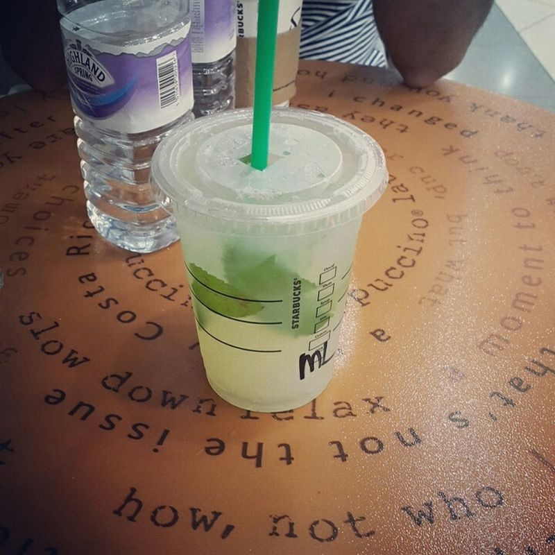 Lemonmint Starbucks Killingthedesertheat Dubai❤