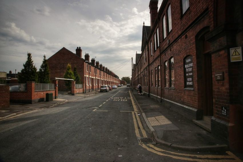 Middleport Pottery Architecture Building Exterior Built Structure City Cloud - Sky Day House Middleport Pottery No People Outdoors Residential Building Road Sky Street The Way Forward Transportation