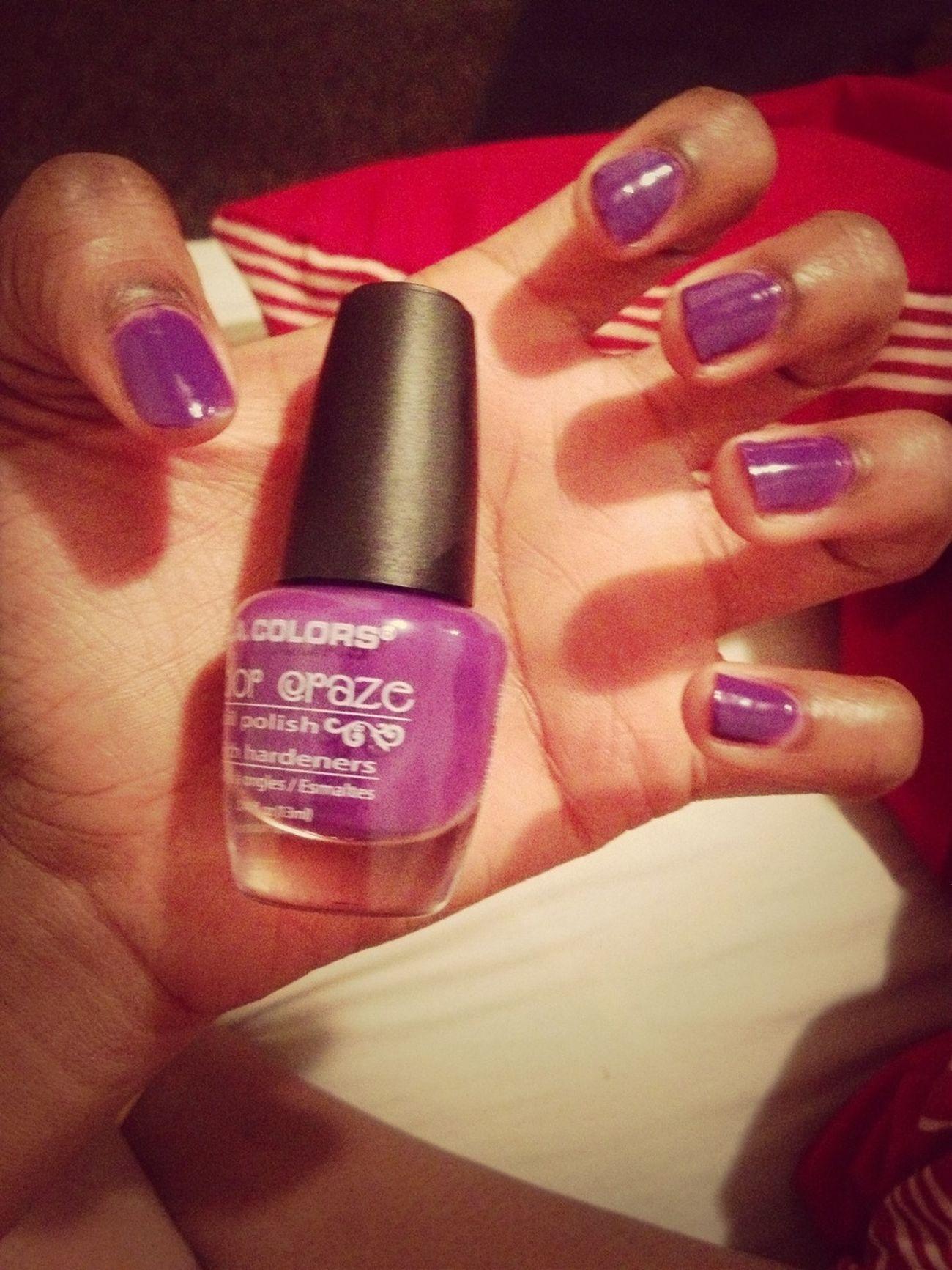 Polishing My Nails
