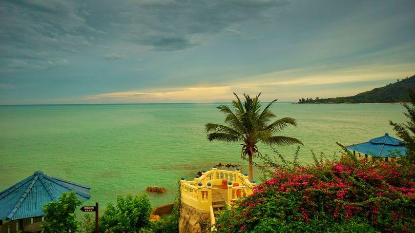 Tanjung Pesona beach, Sungailiat, Bangka. Photography By @jgawibowo Arif Wibowo Photoworks Shot By @jgawibowo Shot By Arif Wibowo Travel Photography Landscape Bangka Seascape Scenic Scenic View Resort