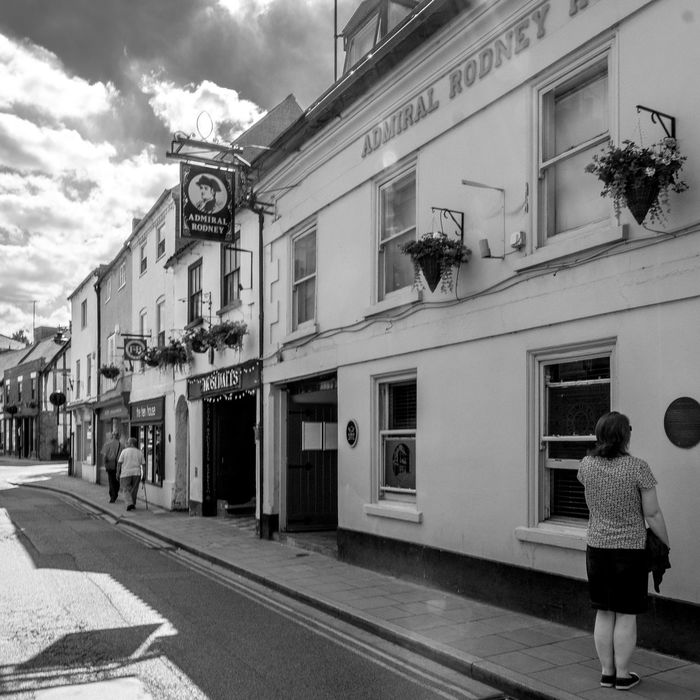 The Admiral Rodney Hotel, King Street, Southwell, Nottinghamshire Pubs Nottingham Pubs Black And White Blackandwhite Monochrome Photography Southwell FUJIFILM X-T2 Nottinghamshire Northampton