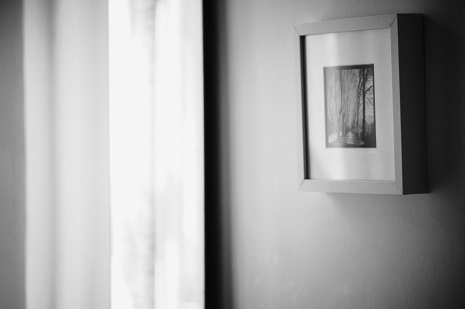 The picture frame Curtain Day Drapes  Home Interior Indoors  Monochrome Photography No People Picture Frame Window