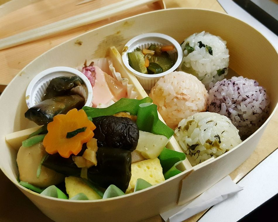 Lunch Box Japanese Food Japanese Bento Food On The Go Bento Box Food Ready-to-eat Close-up Day Leisure Activity Healthy Eating