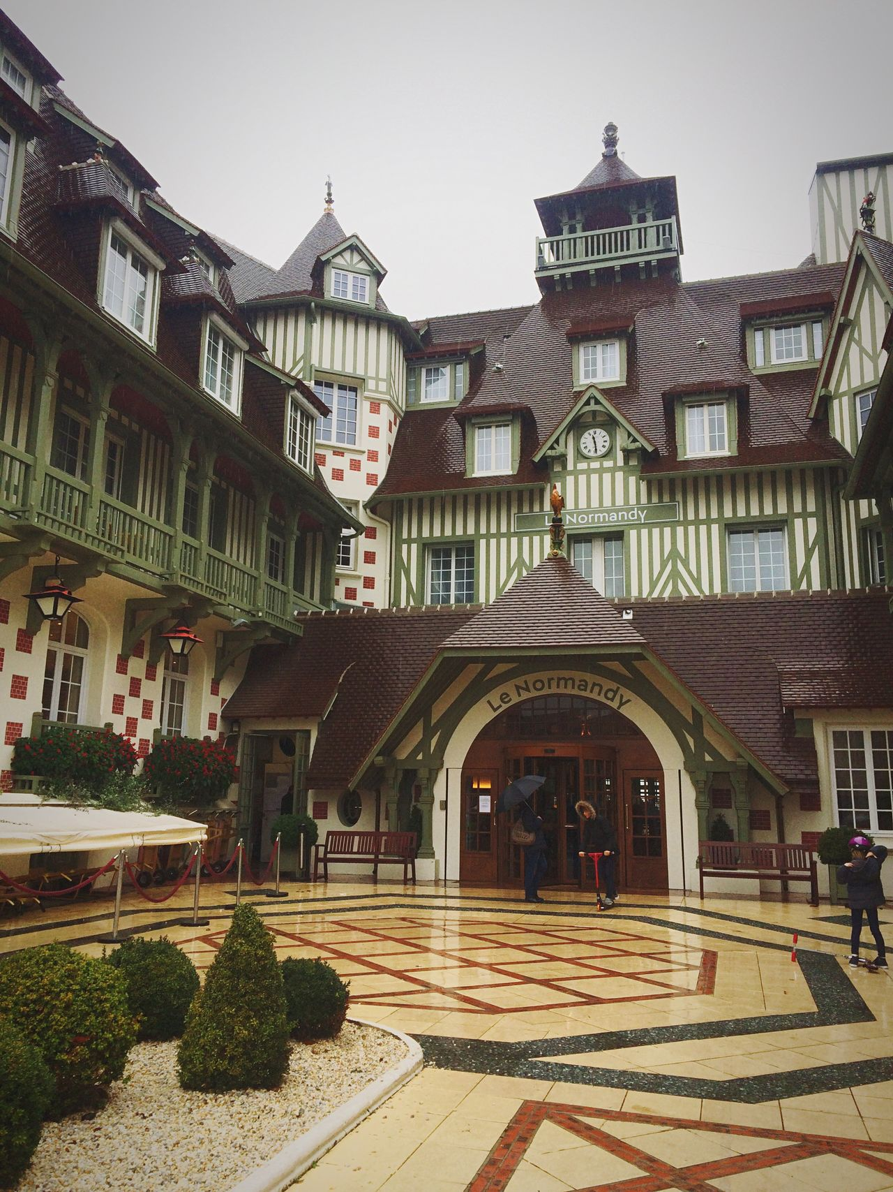 My Year My View Architecture Building Exterior Travel Destinations Normandie France Fivestarhotel City