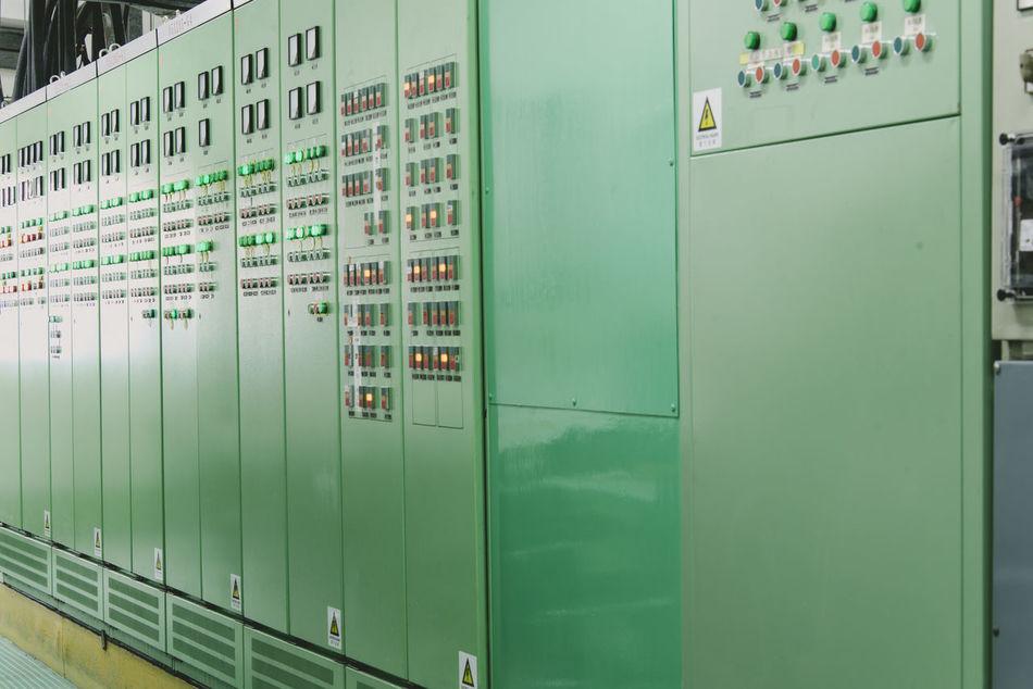 Built Structure Day Indoors  Locker Locker Room Network Server No People Technology