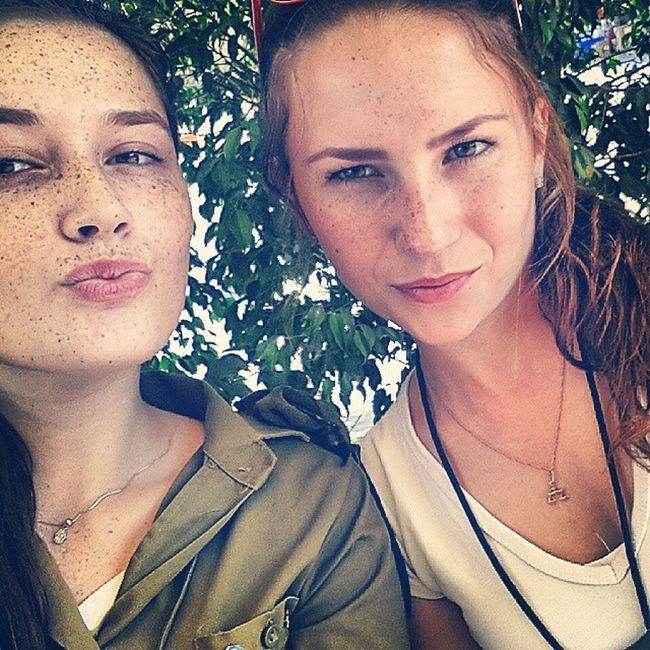 Israeligirls Israel Idf Summer prettygirls russiangirlsss russian freckles army cute instagram מצרפ morning Good morning from IDF..☆★☆