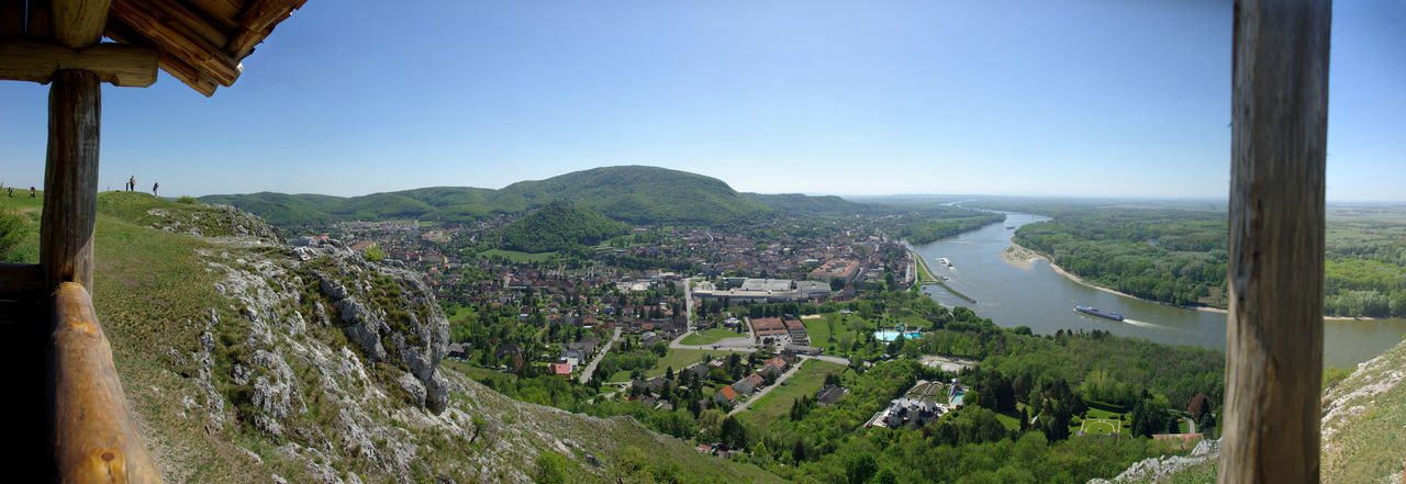 Hainburg an der Donau sight from above Austria City Country Crag Day Donau Hainburg An Der Donau Hill Landscape Mountain Nature Nature Outdoors Panoramic Reef River Rock Sightseeing Stone Travel Travel Destinations View From Above
