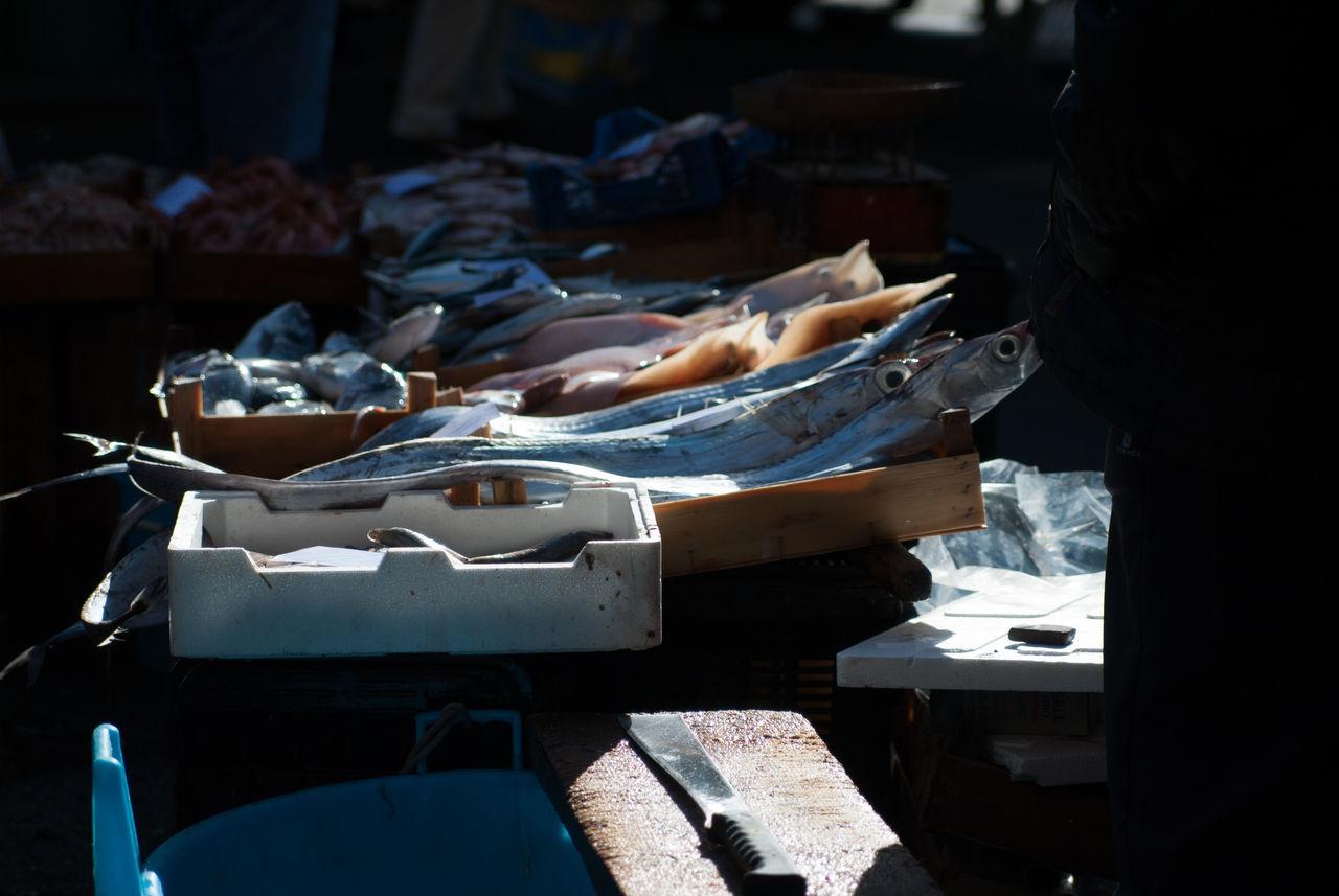 Catania, Sicily Fish Mercato Del Pesce Pesce Pescefresco Pescheria Sicilia Sicily