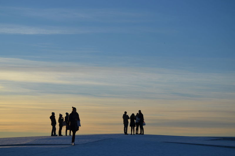 Do you think we can walk off the earth? Nope Definitely Not Oslo Norway Traveling Sunset Always Dark In Oslo