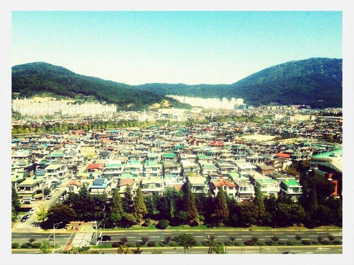 South Korea Changwon Travel Sky And City