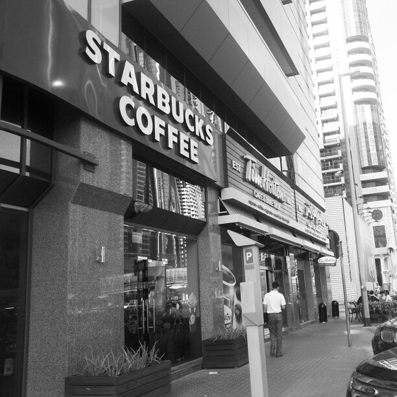 Timhortons Starbucks Dubai