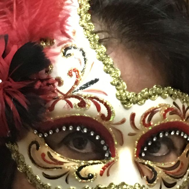 Everyone you meet wears a mask...visible or invisible! #mask #masquerade Color Portrait EyeEm Best Shots EyeEmbestshots Eyes Are Soul Reflection