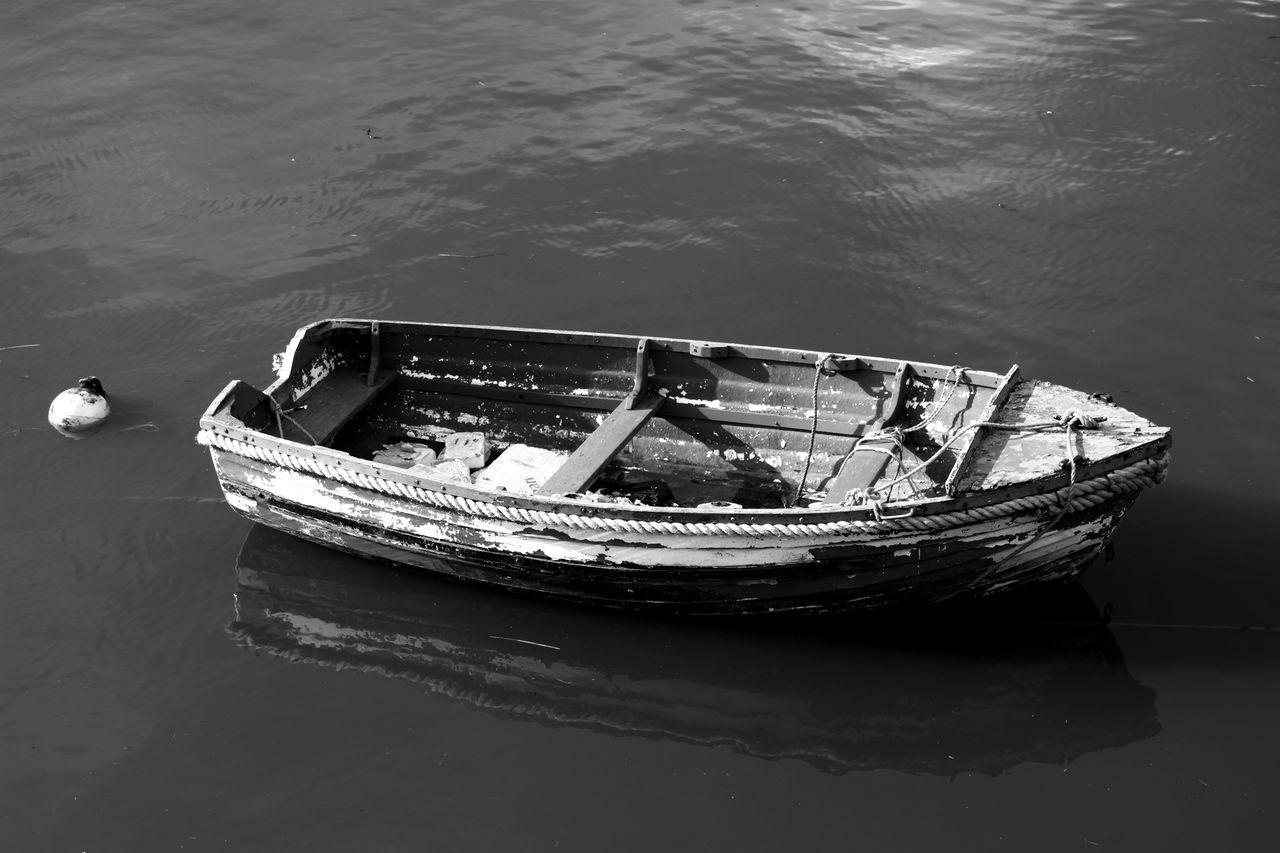 Boat Mode Of Transport Moored Nautical Vessel Old Boat River Transportation Water